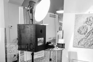 Aufbau der Fotobox am Lehrerball in Deutschkreutz