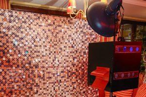 Aufbau der Fotobox am SPÖ Ball in Trausdorf an der Wulka