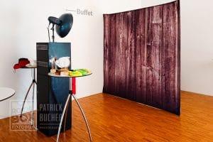 Aufbau der Fotobox im Lisztzentrum in Raiding