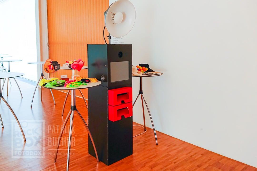 Fotobox Burgenland Raiding Aufbau