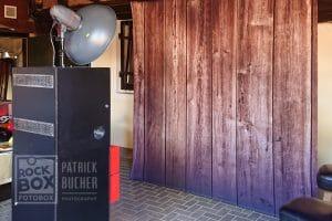 Aufbau Fotobox Faymann Mittelburgenland