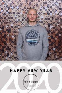 Fotoausdruck Design von Reduce zu Silvester 2019